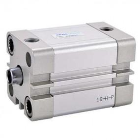 Cilindru pneumatic compact ISO 21287 dubla actionare seria ACE fara magnet Ø63 Cursa 150 mm - 63x150