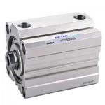Cilindru pneumatic compact dubla actionare seria ACQ fara magnet, Piston Ø32 mm, Cursa 75 mm
