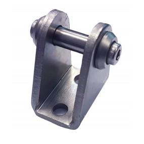 Accesoriu tip L cu oscilare prindere cilindru pneumatic Ø25