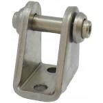 Accesoriu tip L cu oscilare prindere cilindru pneumatic Ø16