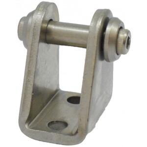 Accesoriu tip L cu oscilare prindere cilindru pneumatic Ø8