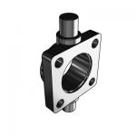 Flansa prindere cilindru pneumatic ISO 15552 basculant Ø32