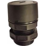Buton ingropat negru pentru valve actionare mecanic