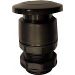 Buton tip ciuperca negru pentru valve actionare mecanic
