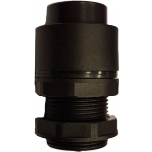 Buton inalt negru pentru valve actionare mecanic