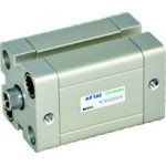 Cilindru pneumatic compact ISO 21287 dubla actionare seria ACE cu magnet Ø80 Cursa 175 mm - 80x175