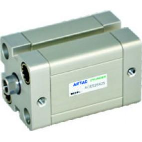 Cilindru pneumatic compact ISO 21287 dubla actionare seria ACE fara magnet Ø100 Cursa 120 mm - 100x120