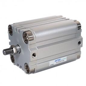 Cilindru pneumatic compact dubla actionare seria ACP fara magnet, Piston Ø12 mm, Cursa 20 mm