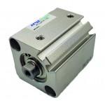 Cilindru pneumatic compact dubla actionare seria ACQ cu magnet, Piston Ø16 mm, Cursa 45 mm