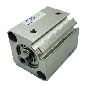 Cilindru pneumatic compact dubla actionare seria ACQ cu magnet, Piston Ø16 mm, Cursa 40 mm