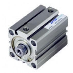 Cilindru pneumatic compact dubla actionare seria ACQ cu magnet, Piston Ø100 mm, Cursa 5 mm