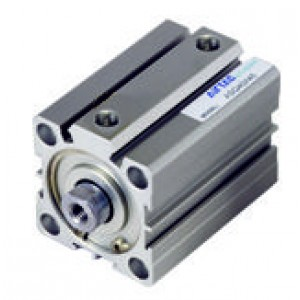 Cilindru pneumatic compact dubla actionare seria ACQ fara magnet, Piston Ø12 mm, Cursa 10 mm