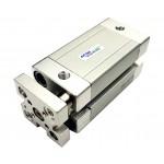 Cilindru pneumatic compact antirotatie dubla actionare seria ACE cu magnet Ø50 Cursa 40 mm