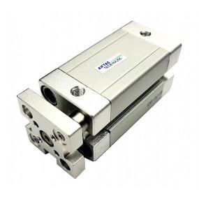 Cilindru pneumatic compact antirotatie dubla actionare seria ACE cu magnet Ø40 Cursa 50 mm