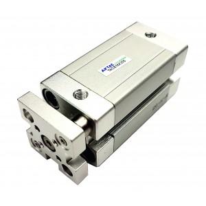 Cilindru pneumatic compact antirotatie dubla actionare seria ACE cu magnet Ø100 Cursa 100 mm