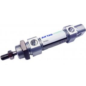 Cilindru pneumatic rotund ISO 6432 Piston Ø25 Cursa 10 mm