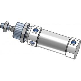 Cilindru pneumatic rotund ISO 6432 Piston Ø40 Cursa 250 mm