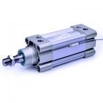Cilindru pneumatic patrat ISO 15552 tija dubla, Piston Ø32 mm, Cursa 450 mm