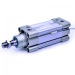 Cilindru pneumatic patrat ISO 15552, Piston Ø80 mm, Cursa 50 mm