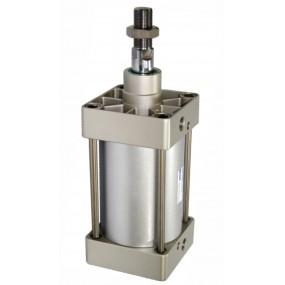 Cilindru pneumatic patrat ISO 15552 Ø160 Cursa 25 mm - 160x25
