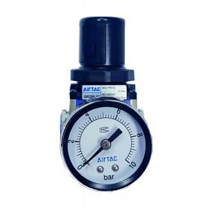 "Regulator de presiune cu manometru exterior 0-10 bar 1/4"""