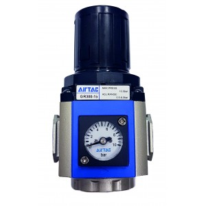 Regulator de presiune cu manometru incorporat 0-10 bar 1/4""