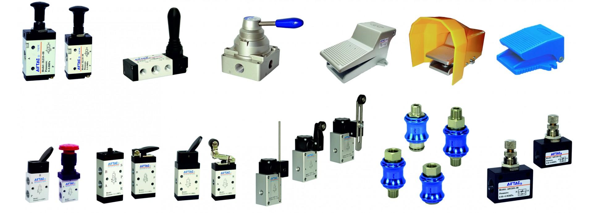Distribuitoare actionate mecanic